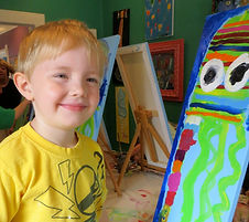 Preschool Paint and Art Classes
