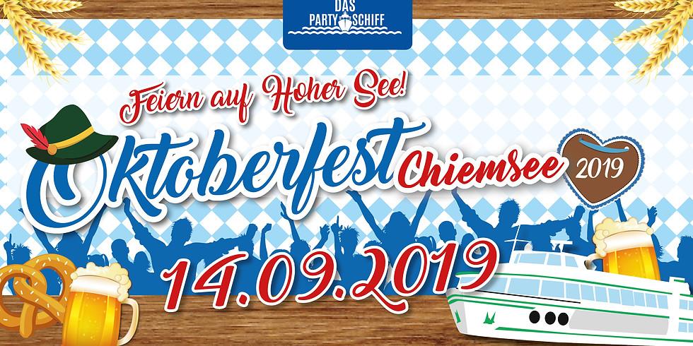 Oktoberfest Partyschiff Chiemsee 14.09.19