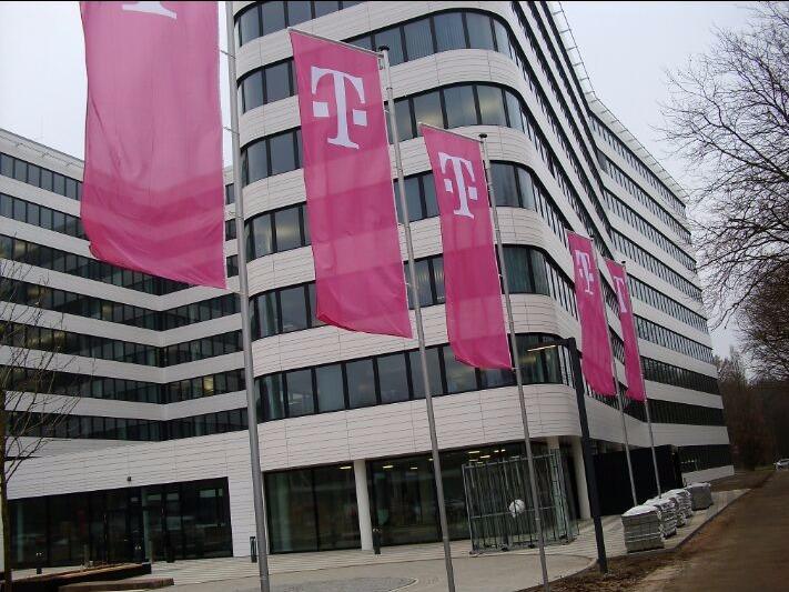 Fahnen Telekom
