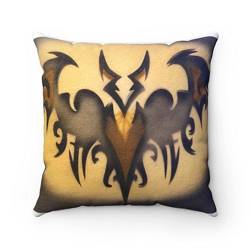 Bat Square Pillow