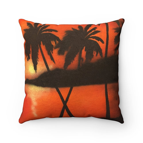 Tropical Square Pillow