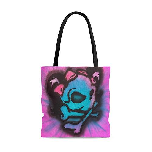 Mrs. Skull Tote Bag