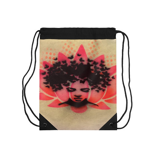 Peaceful Drawstring Bag