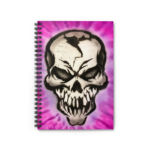 Mr. Skull Spiral Notebook - Ruled Line