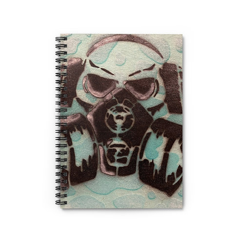 Toxic Spiral Notebook - Ruled Line