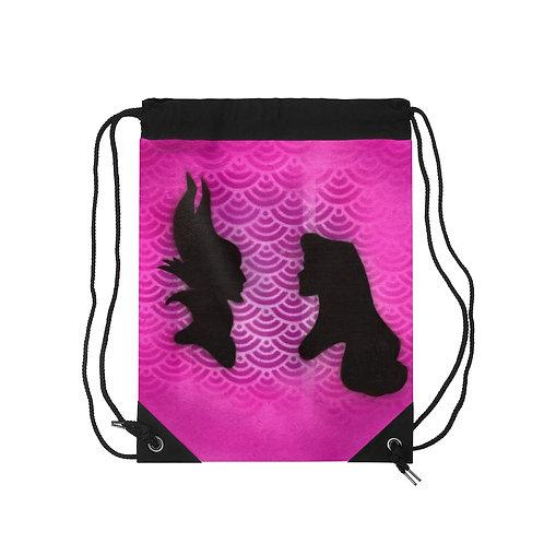 Faceoff Drawstring Bag