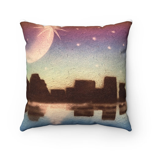 Midnight Square Pillow