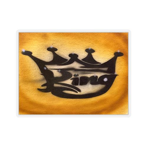 King Kiss-Cut Stickers