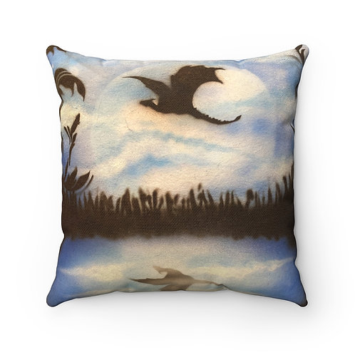 Dragon Square Pillow