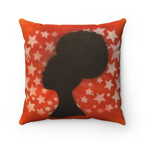 Fro Square Pillow