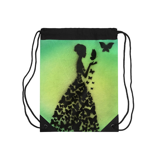 Butterflies Drawstring Bag