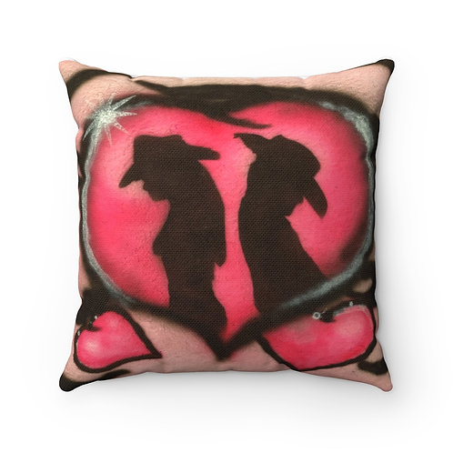 Rodeo Love Square Pillow
