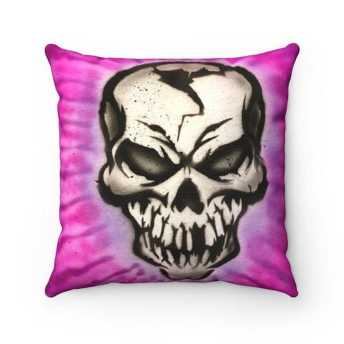 Mr. Skull Square Pillow