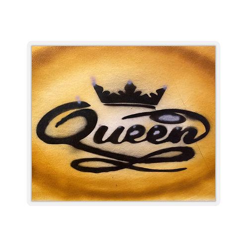 Queen Kiss-Cut Stickers