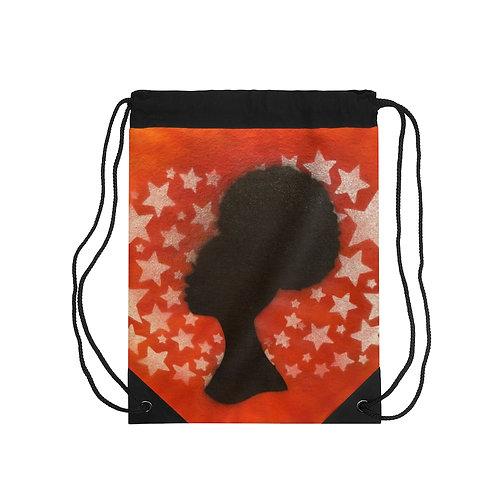 Fro Girl Drawstring Bag