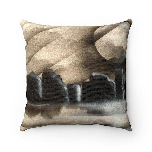 Nightscape Square Pillow