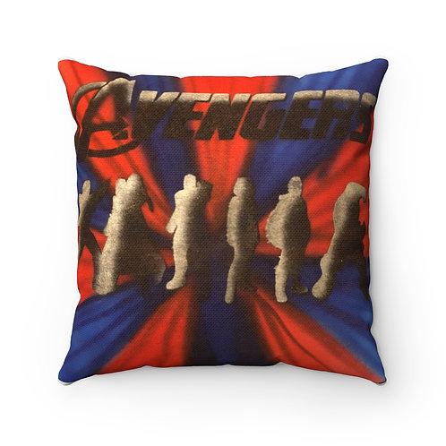 Avengers Square Pillow