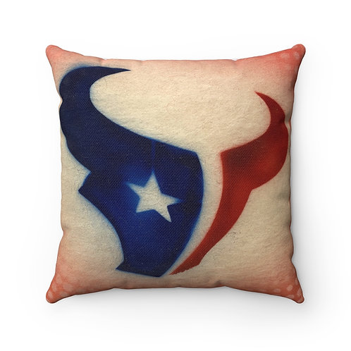 Texans Square Pillow