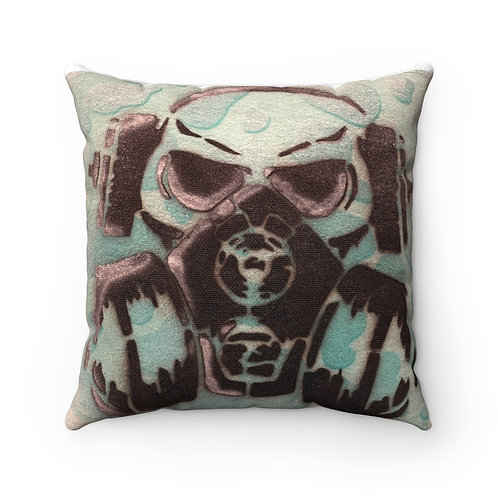 Toxic Square Pillow