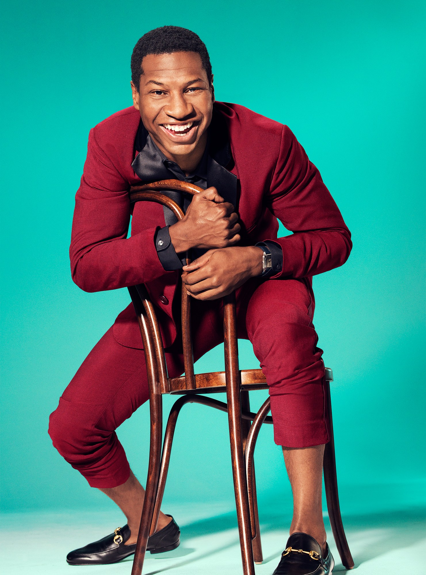 Vanity Fair with Jonathan Majors