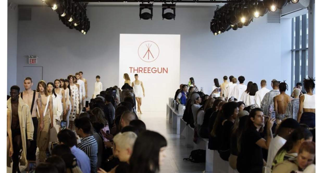 Three gun NYFW RUNWAY 2019