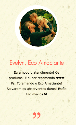 Evelyn, EcoAmaciante