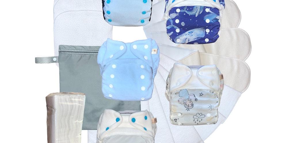 Kit Experimenta! - Fraldas de bolso e capas