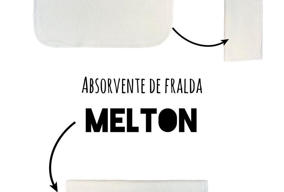 Kit 10 absorvente de melton