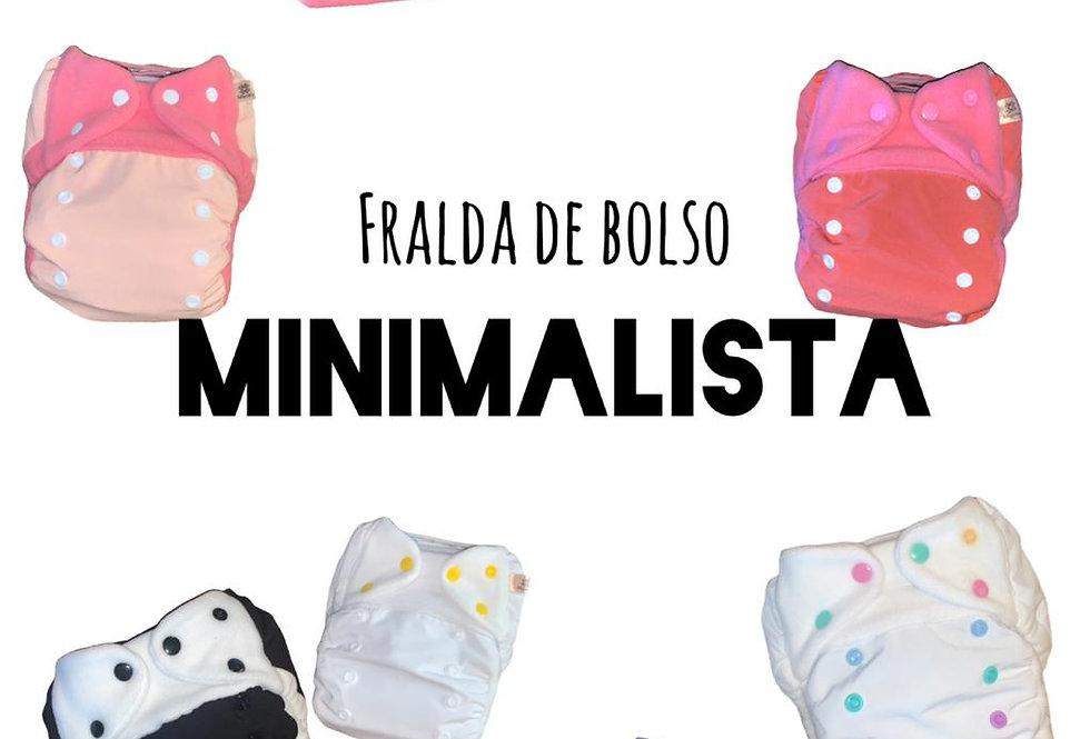Kit 10 Fralda de bolso diurna minimalista