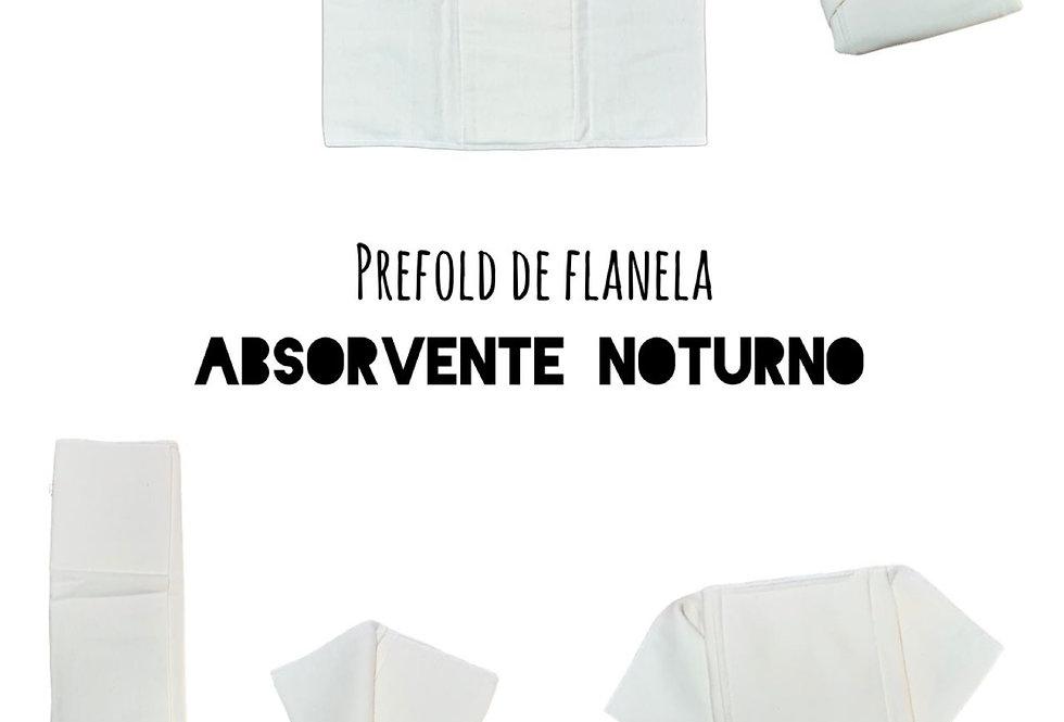 kit 10 prefolds TU flanela