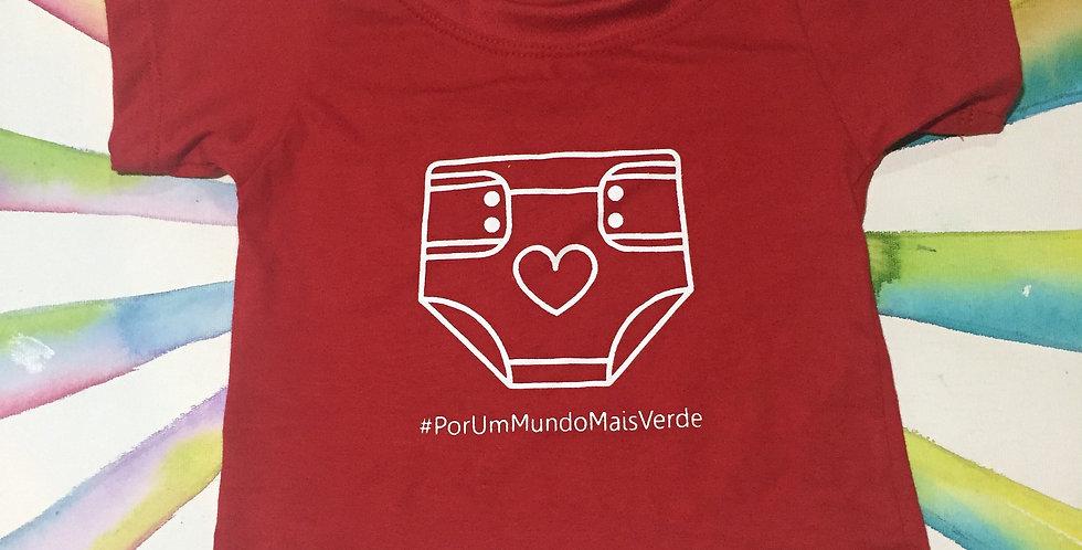 Camiseta Algodão orgânico - Mayaru