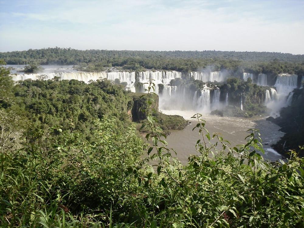 Foz Do Iguaçu from the Brasilian side