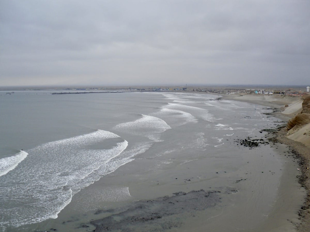 The land of lefts at Chicama in Peru