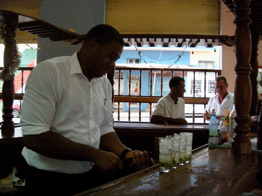 The best mojitos in La Habana in Cuba