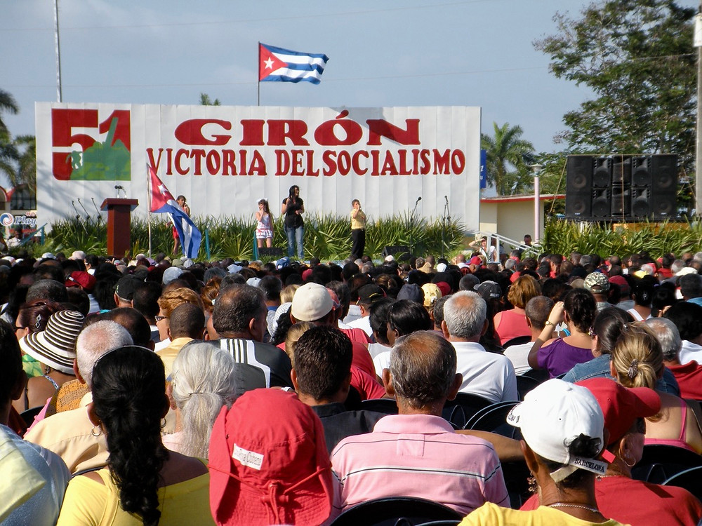 Celebrations of Playa Giron in Cuba
