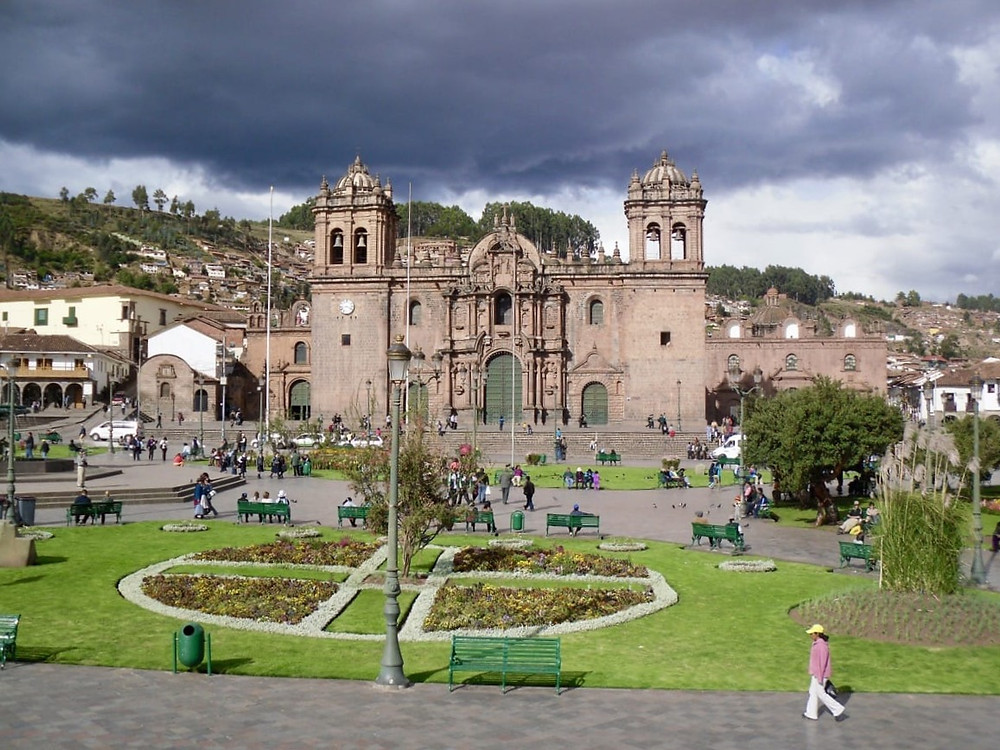 The city of Cusco in Peru
