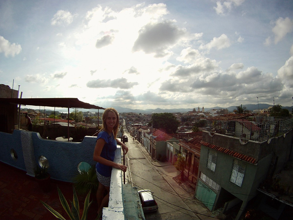 Rooftop view of Santiago de Cuba
