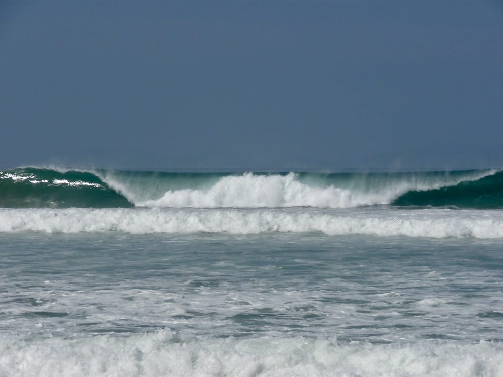 Barrels were a common site at Santa Teresa in Costa Rica