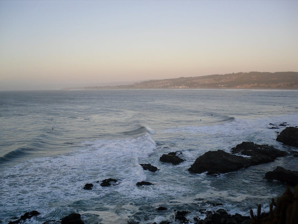 Surfing Punta de Lobos in Chile