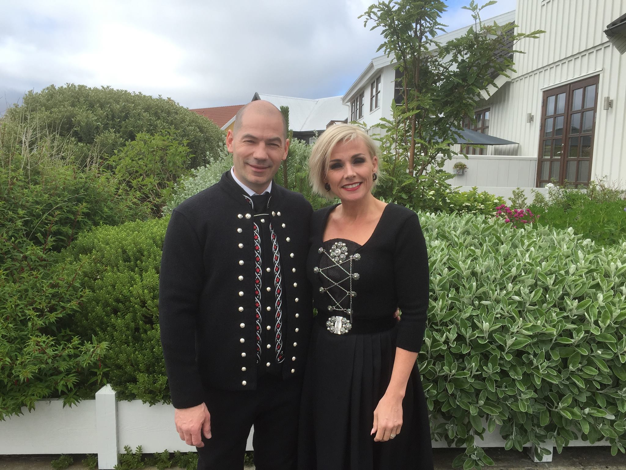 National Faroese clothes