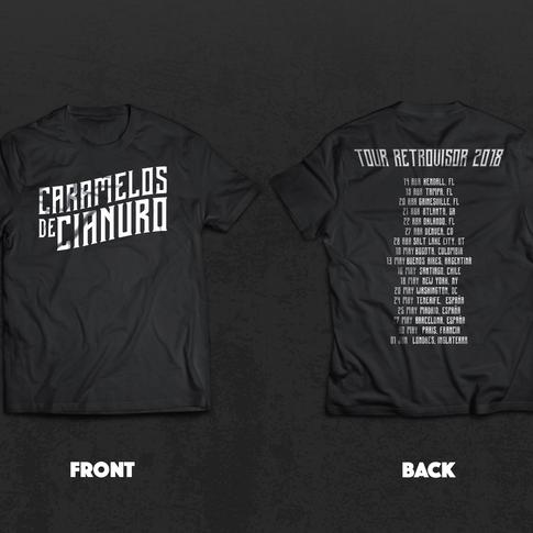 Caramelos De Cianuro (Tour T-Shirt)
