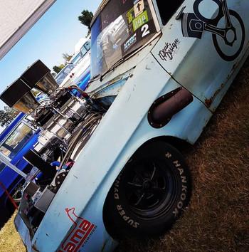DSPRUNG Bunrout car we sponsor.