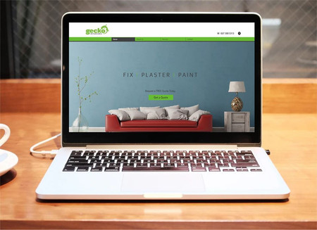 Web Design For Gecko Interiors