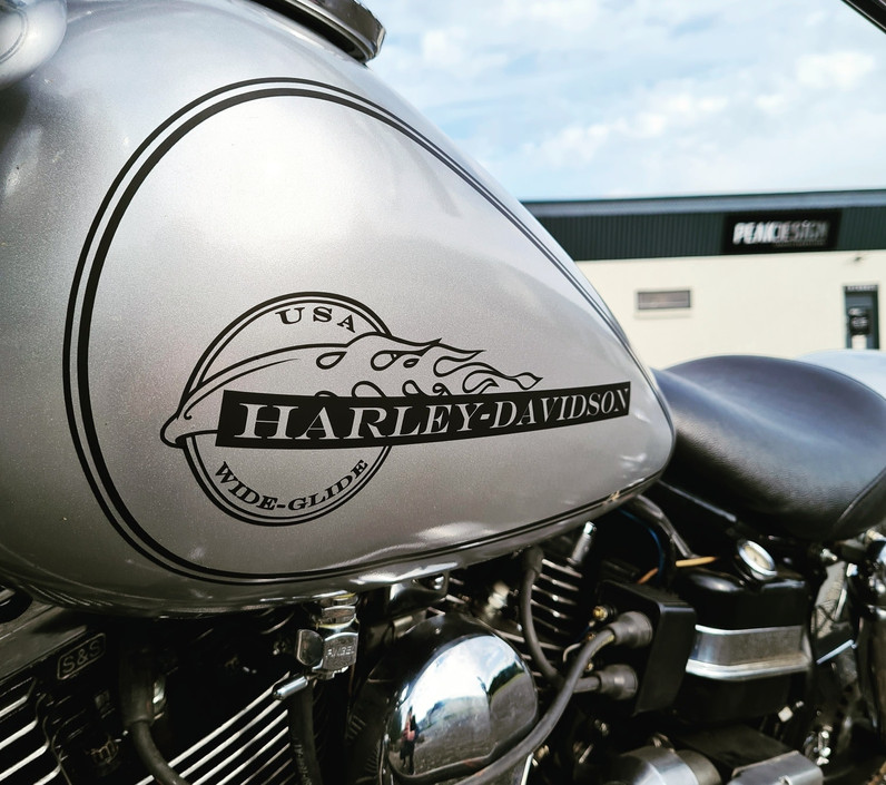 Harley Davidson Wrap