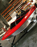 Jet boat graphics and window wrap.