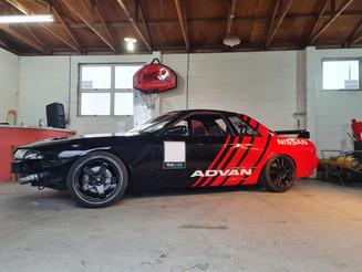 Advan Drift Car Wrap