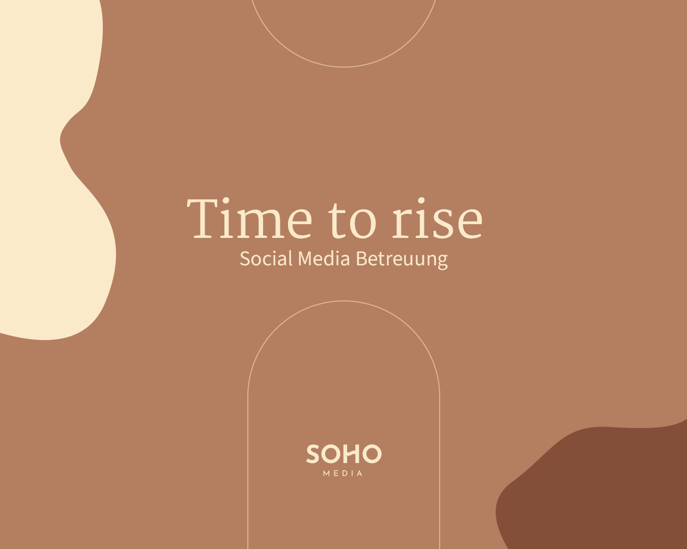 Social Media Betreuung - Time to Rise