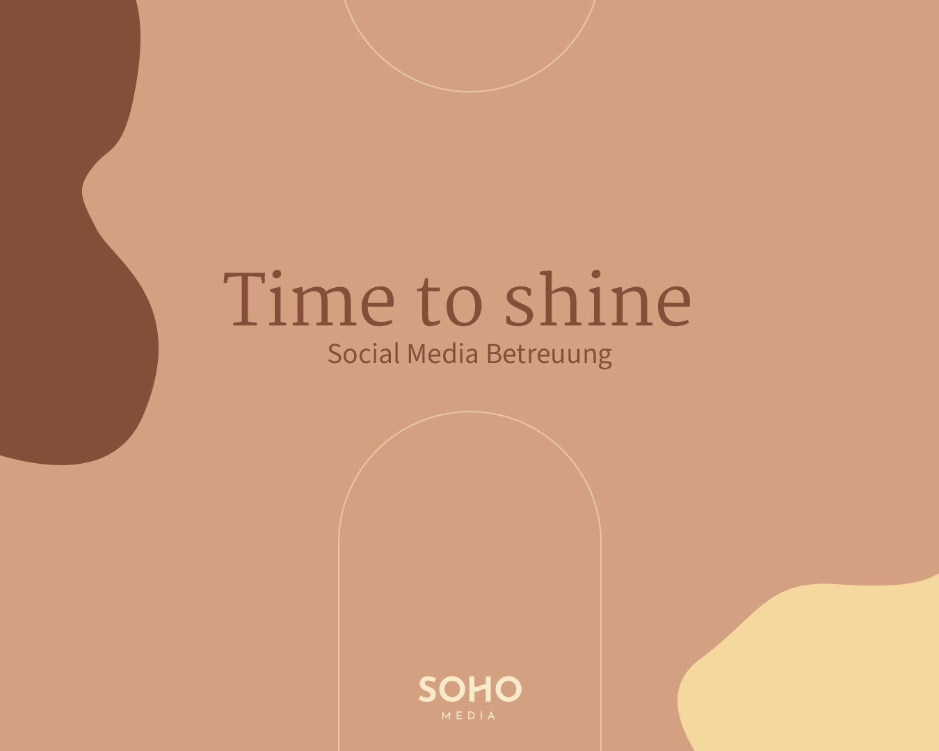 Social Media Betreuung - Time to Shine