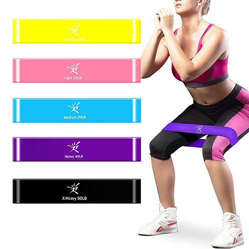 Resistance Bands  Fitness Elastic Rubber Bands
