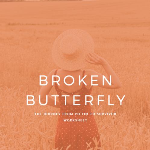 Broken Butterfly Worksheet